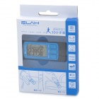 "ELAH SM021 1.3"" LCD 3D Digital Pedometer - Blue (1 x CR2032)"