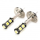 SENCART H1 4.5W 414lm 9-SMD 5060 LED White Light Car Fog Lamp (2 PCS / 12V)