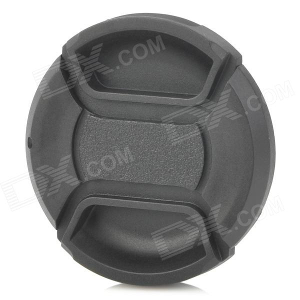 49mm Universal ABS Lens Cap - Black