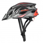 MOON BH-28 Outdoor Sports PC + EPS Bike Bicycle Helmet - Red + Black