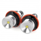 H7 5W 440lm 2-LED White Light Car Angle Eyes Decoding Headlamp (2 PCS / 12V)