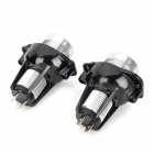 H7 6W 440lm 2-LED Vit Ljus Car Angle Eyes Decoding Headlamp (2 PCS / 12V)