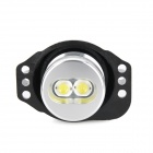 H7 6W 440lm 2-LED White Light Car Angle Eyes Decoding Headlamp (2 PCS / 12V)