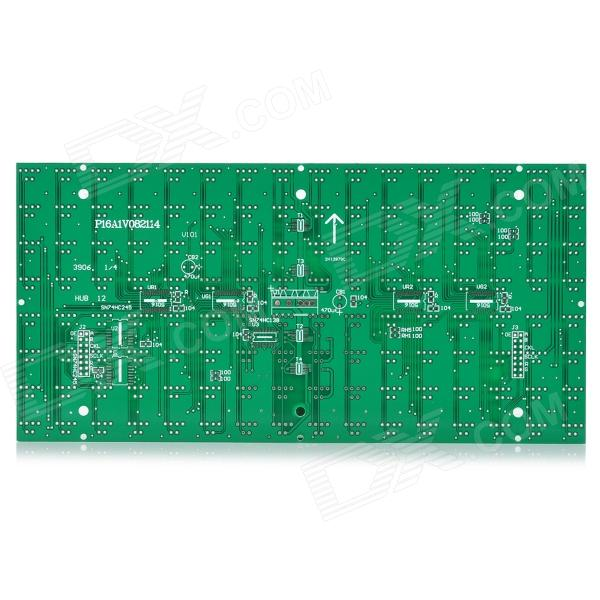 HY 2H13979C P16 Outdoor Dual-Color LED Display Board - Green led advertising display screen diy kits p16 outdoor rgb led panel 1 pcs jn power supply 1 pcs contrller all cable