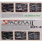 SpaceRail DIY физика Space Ball Rollercoaster с питанием лифт (26000mm Rail)