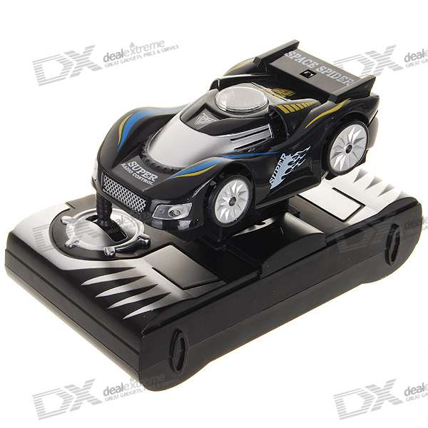 Rechargeable R/C Anti-Gravity Ceiling and Wall Climbing Car 9099 20e r c 4 channel ir controlled wall climber vehicle model toy yellow blue black