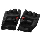 Tactical Series Half-Finger Gloves - Black (Pair / Size M)