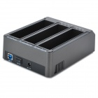 "FIDECO YPZ08 3-Port HDD Docking Station for 2.5"" / 3.5"" IDE + SATA HDD"