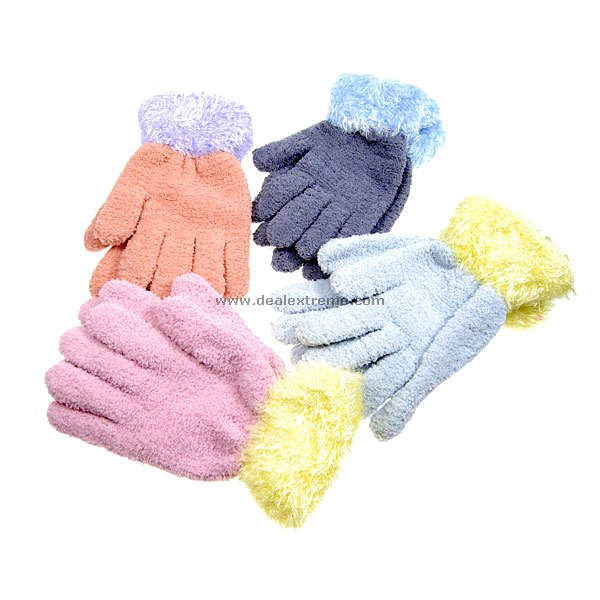 Cheap Warm Winter Gloves (Color Assorted)
