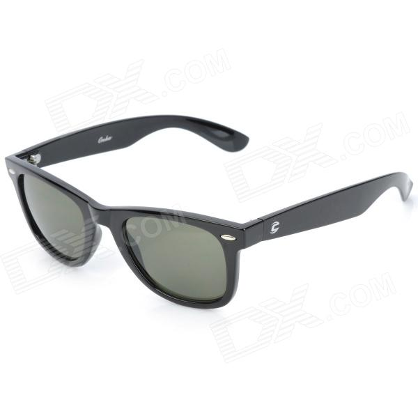 OREKA 008 Retro PC Lens TR55 Frame UV400 Protection Sunglasses Goggles - Black