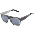 OREKA 6001 Fashion Nylon Resin Lens Alloy Frame Sunglasses Goggles - Black