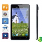 "C3 Android 4.0 WCDMA Smartphone w/ 6.0"" Capacitive Screen, Wi-Fi, GPS and Dual-SIM - Black"
