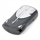 "XRS-9345 1.2"" LCD 360 Degree Digital Radar Detector - Silver + Black"