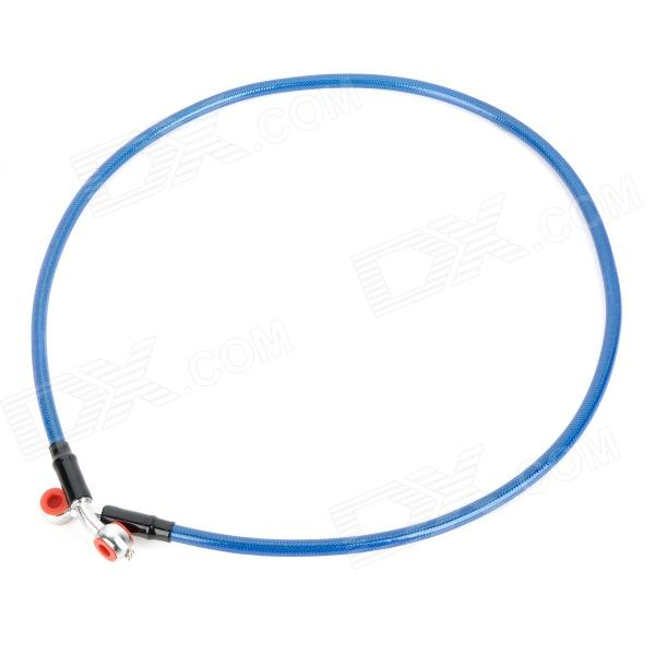 DIY Motorcycle Brake Oil Hose Tube Pipe - Blue (95cm) free shipping hot sale for kawasaki z750 z 750 2010 2014 motorcycle accessories rear brake fluid reservoir cap oil cup with logo