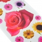 Chrysanthemum / Sunflower / Rose Pattern Tattoo Paper Sticker