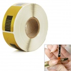 500-in-1 Crystal Armor Phototherapy Nail Art Paper Holder - Golden + Black