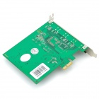 10MOONS HDV3000E PCI-E HDMI 720P/ 1080i Digital Video Capture Card - Green
