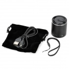 MKBS-002 Mini Bluetooth v3.0 + EDR 2.1-Channel Speaker w/ Strap - Black