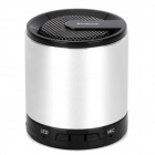 MKBS-004 Mini Bluetooth v3.0 + EDR 2.1-Channel Speaker w/ Strap - Silver + Black