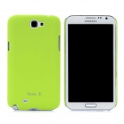 Protective Plastic Case for Samsung Galaxy Note 2 N7100 - Light Green