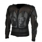 Fashion Protective Motorcycle Racing Guard Armor - Black + Grey (Size XXL)