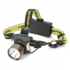 Cree XM-L T6 260lm 5-Mode White Light Headlamp - Brown + Black (2 x 18650)