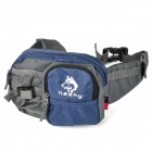 Hasky CY-135 Camping Hiking Waist Bag - Blue + Grey (3.5 L)