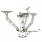 Acecamp Outdoor Camping Fire Ball Stove / Burner - Silver