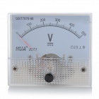 Analogue DC 500V Voltage Panel Meter - White