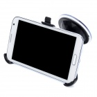 Universal Car Swivel Rotating Mount Holder w/ Suction Cup for Samsung N7100 - Black