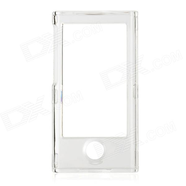 Protective PC Full Body Case for Ipod Nano 7 - Transparent White