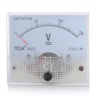 Analoge DC 150V Spannung Panel Meter - White
