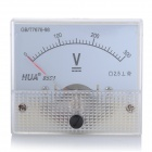 Analogue DC 300V Voltage Panel Meter - White