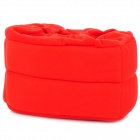 Multi-Function Padded Cotton Fabric Drawstring Internal Bag Pouch - Red