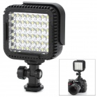 NanGuang CN-LUX480 2.9W 330lm 5400/3200K 48-LED Video Light - Black (3 x AA)