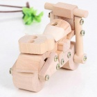 Eco-Friendly Wooden DIY Assembling Motorcycle Model Educational Toy