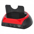 "USB+eSATA Vertical Dock with One Touch Backup for 2.5""/3.5"" SATA HDD"