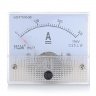 Analogue DC 300A Current Panel Meter Ammeter - White