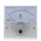 Analogue DC 3A Current Panel Meter Ammeter - White