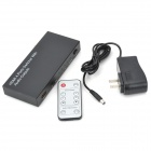 1080p 4-Port HDMI Input to HDMI + Optical/Coaxial Audio Output Converter (100~240V AC)