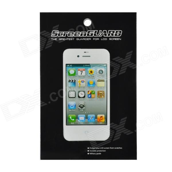 Protective Mirror PET Screen Guard Film w/ Cleaning Cloths for Iphone 5