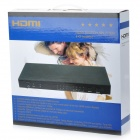 HDMI 1080p 4x2 Matrix Power Amplified Switch and 2-Output Splitter with Remote Control (100~240V AC)
