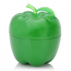 Apple Style Zinc Alloy Cigarette Tobacco Grinder - Green
