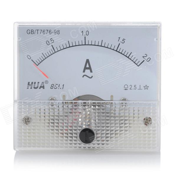 Ac Ammeter Panel Meter : Analogue ac a current panel meter ammeter white