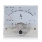 Analogue AC 2A Current Panel Meter Ammeter - White