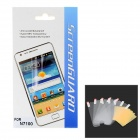 Protective Glossy Screen Protector Guard for Samsung N7100 - Transparent (5 PCS)