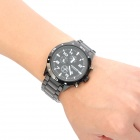 CURREN 8021 Stylish Wateproof Quartz Wrist Watch - Black (1*LR626)
