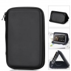 "Multi-Function Protective PU Leather Case w/ External Audio Speaker + Stand for 7"" Tablet PC - Black"