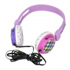 Sonun SN-B01 Stereo Headphones Headset - Purple + White