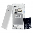 "LG P880 Optimus 4X HD Android 4.0 WCDMA Bar Phone avec écran capacitif 4.7 "", Wi-Fi et GPS - Blanc"